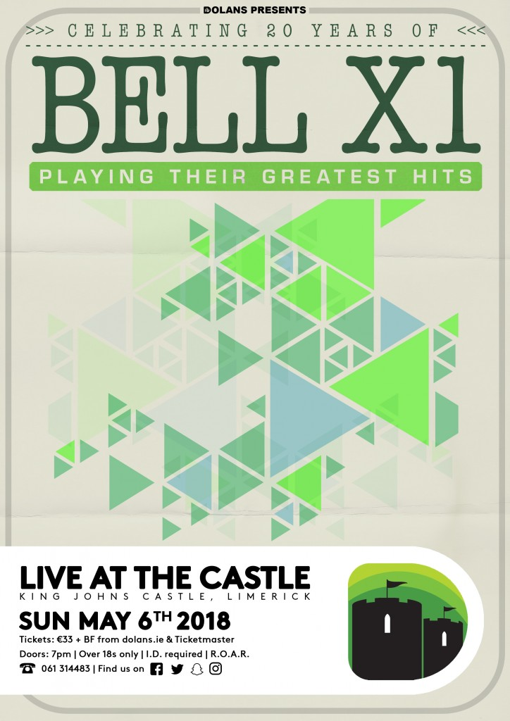 Bell X1 Limerick 2018 Poster